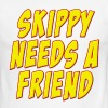 Skippy Needs A Friend Edbassmaster - Men's Ringer T-Shirt