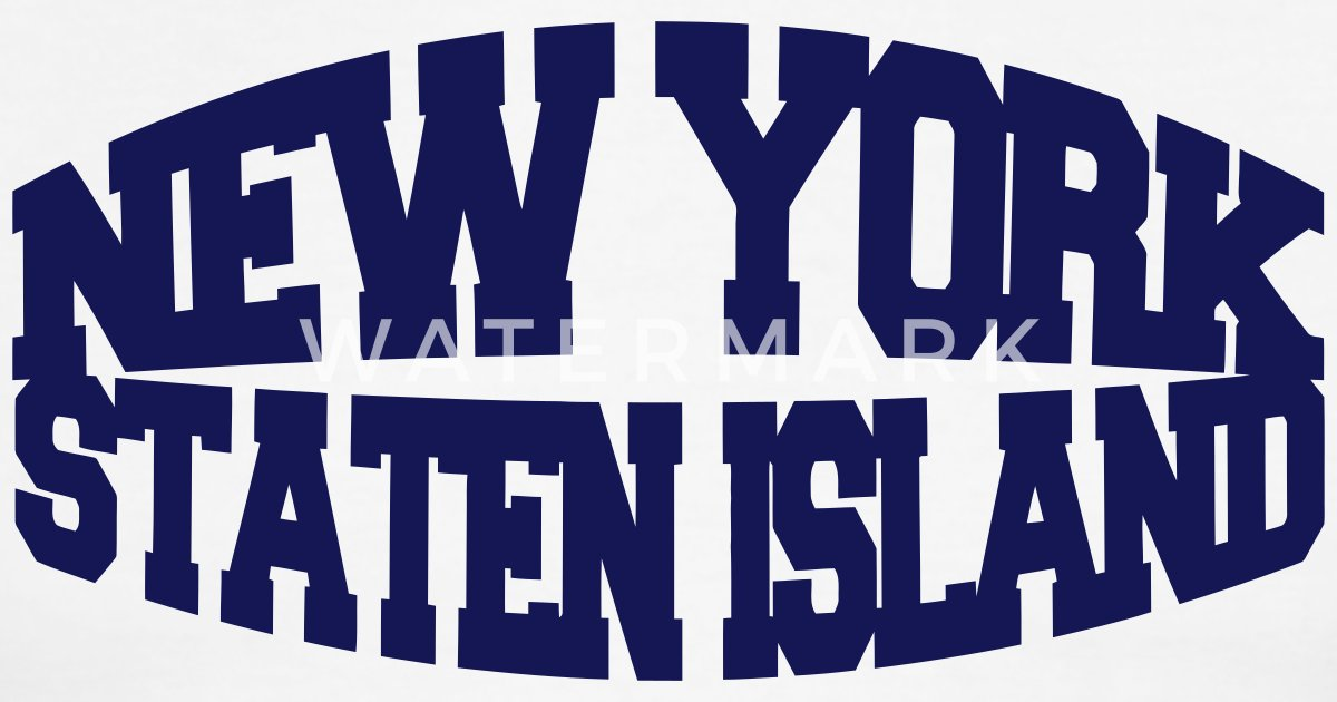 New york staten island by wam us spreadshirt for Custom t shirts long island ny