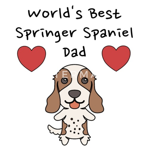 Dog Owner Womens Vest I Love My Springer Spaniel Pet Lover Cute Breed