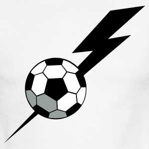 SOCCER BALL world cup with a LIGHTNING BOLT