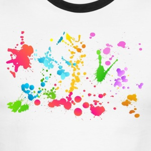 Holi Color Transparent - Men's Ringer T-Shirt