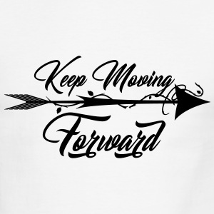 Keep Moving Forward - Men's Ringer T-Shirt