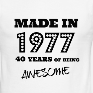 Made in 1977 - 40th bday