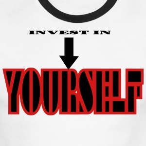 Invest In Self! - Men's Ringer T-Shirt