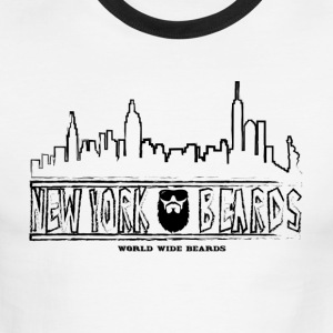 New York Skyline - Men's Ringer T-Shirt