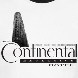The Continental Hotel - Men's Ringer T-Shirt