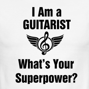I am a Guitarist - What's your superpower? - Men's Ringer T-Shirt