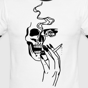 Smoking Weed T-Shirts - Men's Ringer T-Shirt