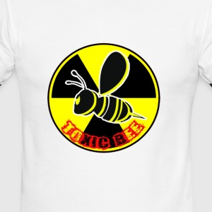 toxic bee logo - Men's Ringer T-Shirt