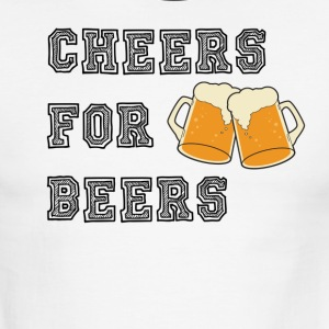CHEERS FOR BEERS - Men's Ringer T-Shirt