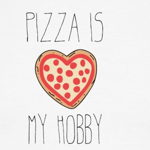 Pizza is my hobby - Men's Ringer T-Shirt