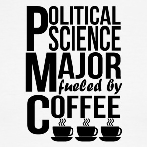 Political Science Major Fueled By Coffee - Men's Ringer T-Shirt