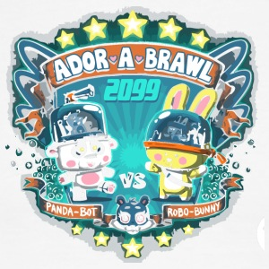 Ador a Brawl - Men's Ringer T-Shirt