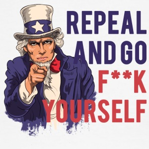 Repeal and go f yourself - Men's Ringer T-Shirt