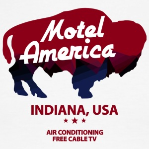 Indiana Of Motel America Free - Men's Ringer T-Shirt
