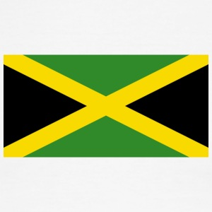 National Flag Of Jamaica - Men's Ringer T-Shirt