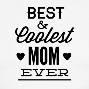 best_and_coolest_mom_ever-01 - Men's Ringer T-Shirt