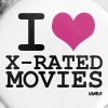 i love xmovies by wam - Large Buttons