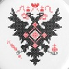 Cross-stitch RUSSIAN IMPERIAL TWO-HEADED EAGLE - Large Buttons