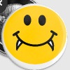 Vampire Smiley face - Large Buttons