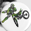 Kawasaki Freestyle Dirt Bike - Large Buttons