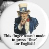 Uncle Sam - Finger - Large Buttons