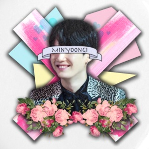 Yoongi Graphic Design - Large Buttons