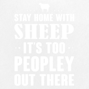 Stay home with Sheep - Large Buttons