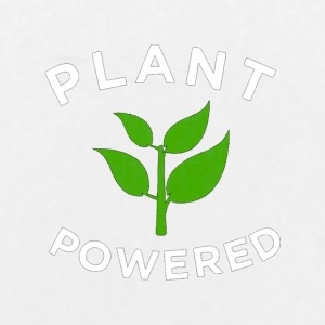 Plant Powered T Shirt Healthy Vegan Lifestyle Tee - Large Buttons