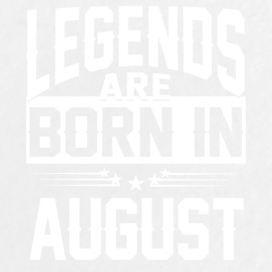 Legends are born in AUGUST - Large Buttons