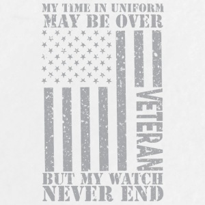 My Watch Never Ends - US Veteran - Large Buttons
