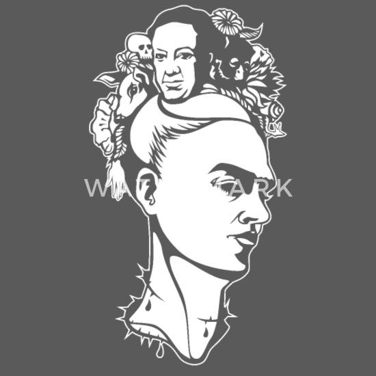 Frida Kahlo Graphic Shirt Plus Size