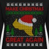 Trump Make Christmas Great Again Ugly Sweater  - Women's Crewneck Sweatshirt