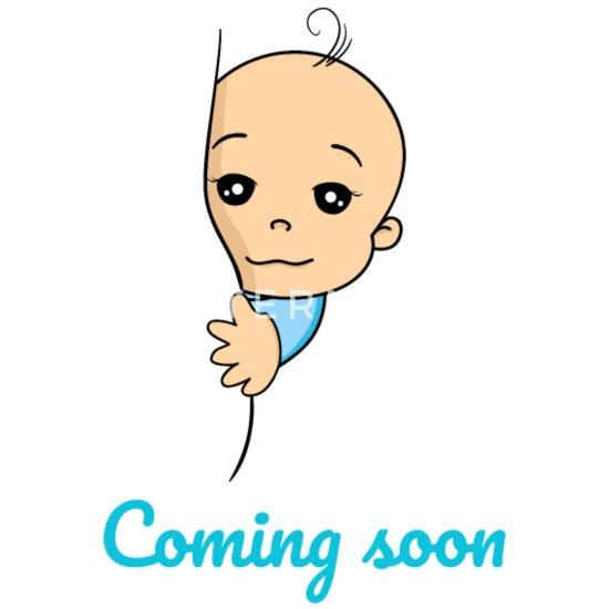 Coming Soon Baby Boy Pregnancy Pregnant Birth Small