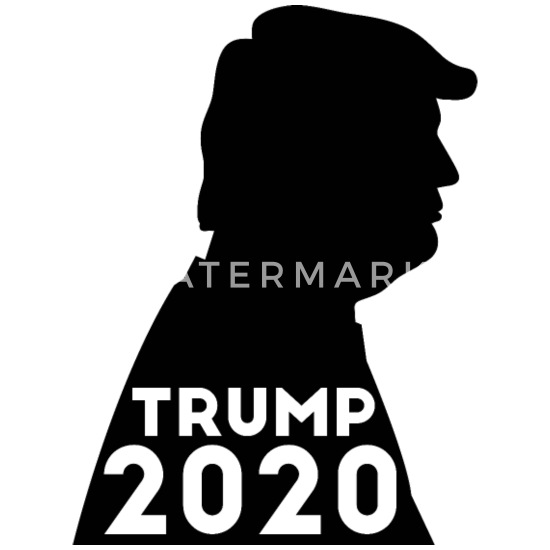 Trump 2020 Silhouette Election America USA Vote Small Buttons | Spreadshirt
