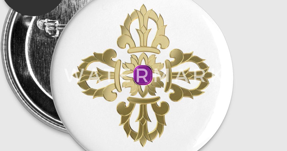Vajra Golden Buddhist Symbol By Igorsin Spreadshirt