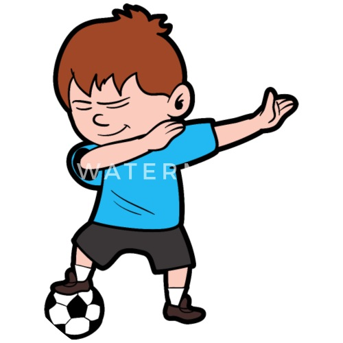 4ca2c6696a8 Dabbing Dab Soccer Player Small Ons Spreadshirt