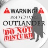 Do Not Disturb OUTLANDER - Small Buttons