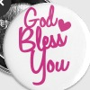 god bless you - Small Buttons