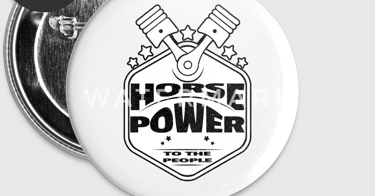 Horsepower To The People Pistons Racing Design By Koolmo Dee