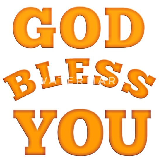 God bless you Small Buttons | Spreadshirt