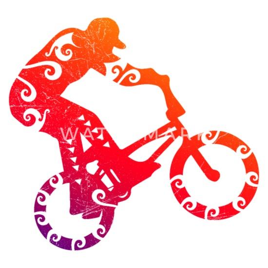 Maori BMX Bike Motocross Tribal Tattoo