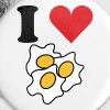 I Love Eggs - Small Buttons