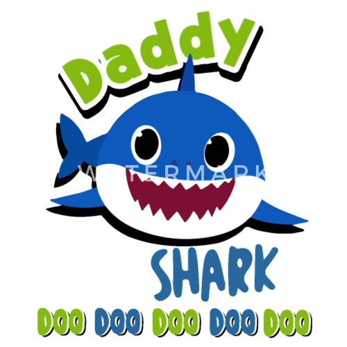 Daddy Shark Doo Doo Shirt Daddy Shark Baby Shark Small