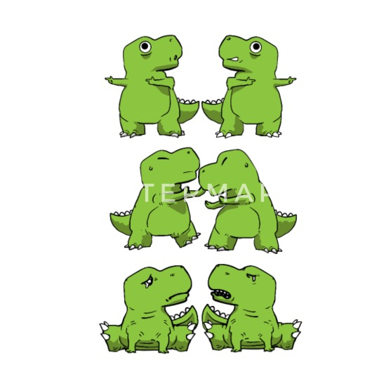11dba705 Design. Design. Design. Design. Poor Buttons - T-Rex Fusion Short Arms Dino  Funny Gift ...