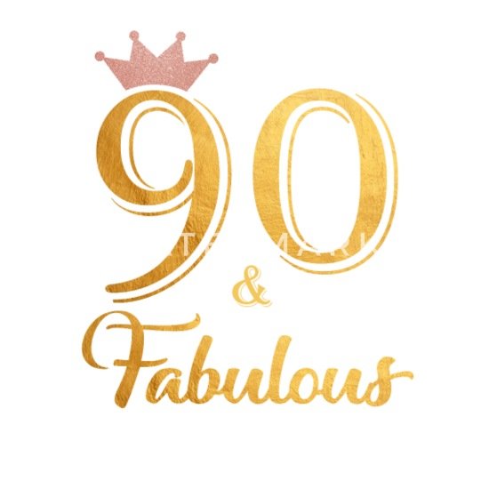 90 Fabulous Queen Shirt 90th Birthday Gifts Buttons Small 1 5 Pack
