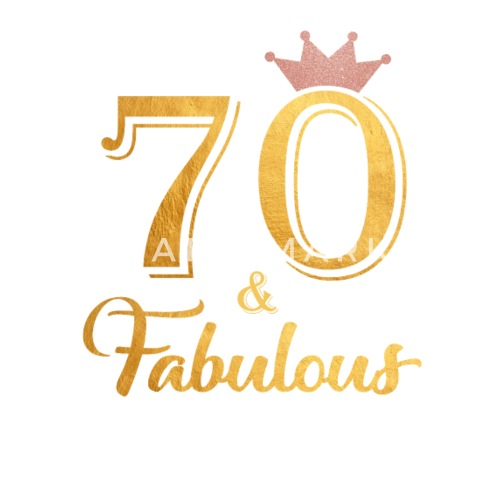 70 Fabulous Queen Shirt 70th Birthday Gifts Small Buttons