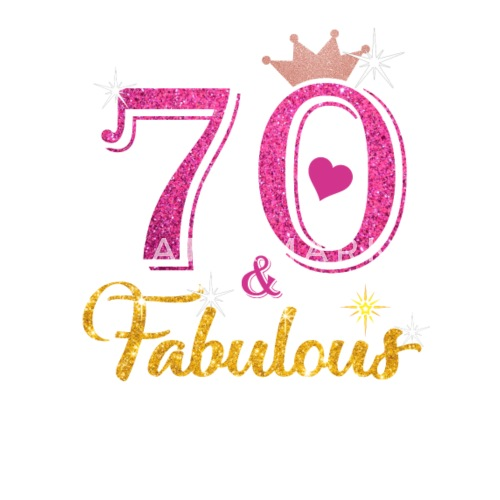 Small Buttons70 Fabulous Queen Shirt 70th Birthday Gifts