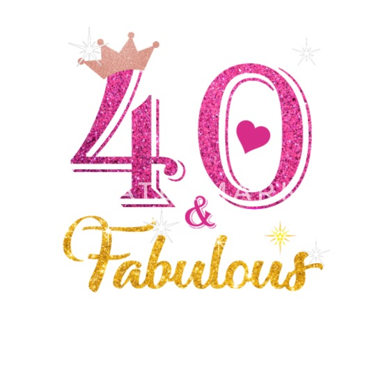 40 Fabulous Queen Shirt 40th Birthday Gifts Small Buttons