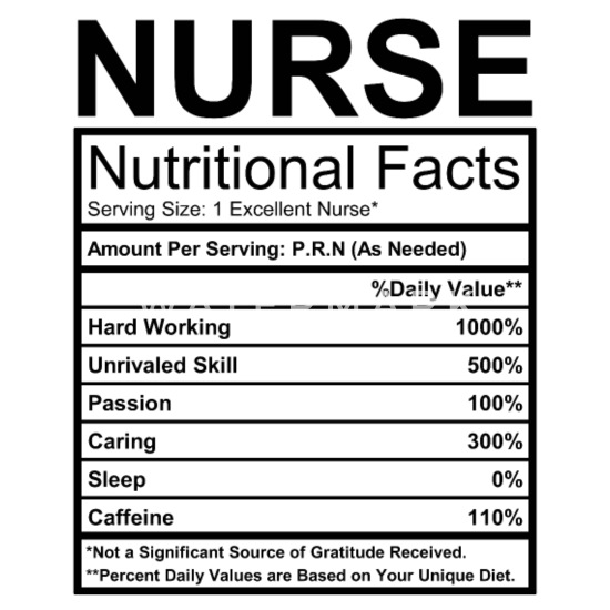 53980bbf Design. Design. Design. Design. Nurse Buttons - Nurse Nutritional Facts ...